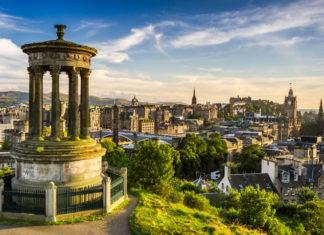 Edinburgh mesto