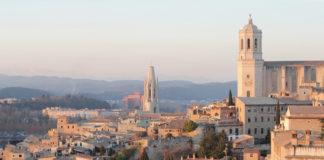 Girona, pohľad na mesto
