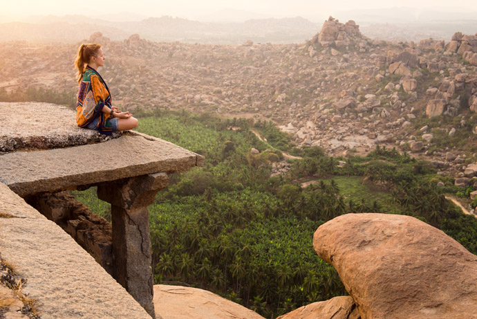 India , meditácia