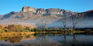 Južná Afrika, jazero, hory