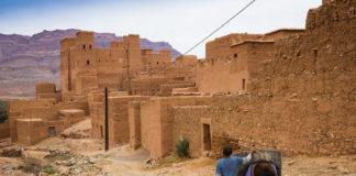 Maroko, starobylé mestečko