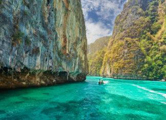 plavba v Thajsku