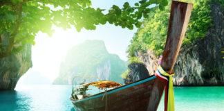 loďka v Thajsku