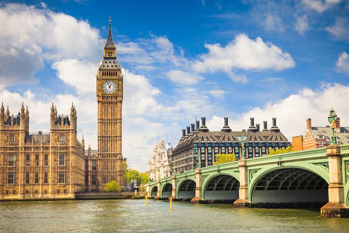 Najlepšie dátumové údaje miest v Londýne