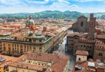 Bologna, staré mesto