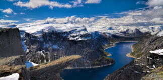Nórsko Sognafjord