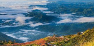 krajina Thajska