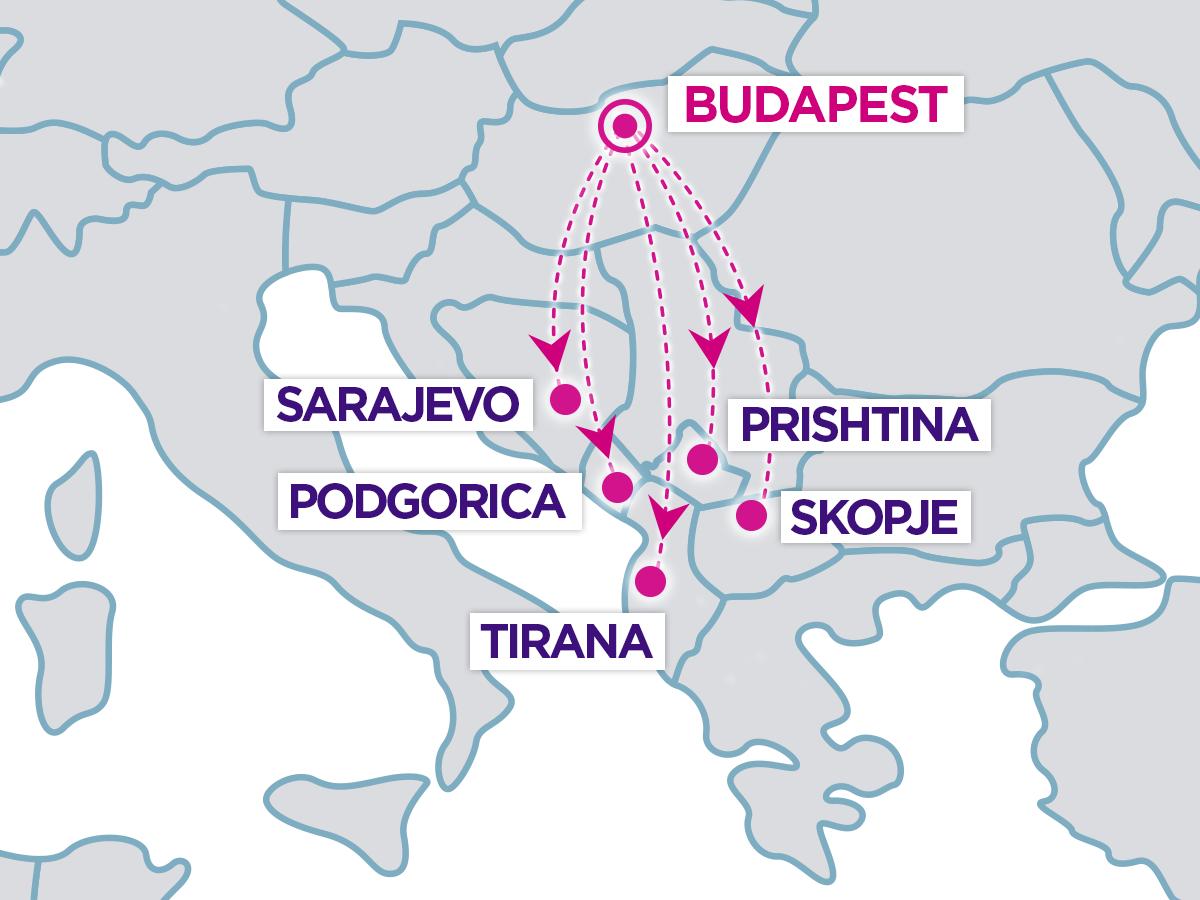 Nové linky z Budapešti