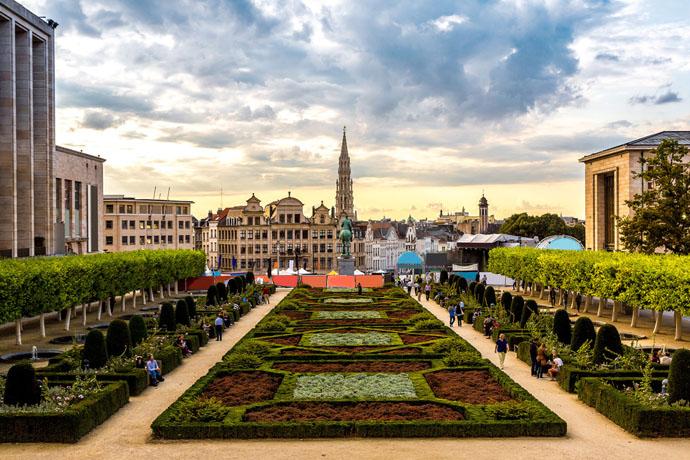námestie v Bruseli