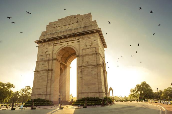 hlavné mesto Indie - Dillí