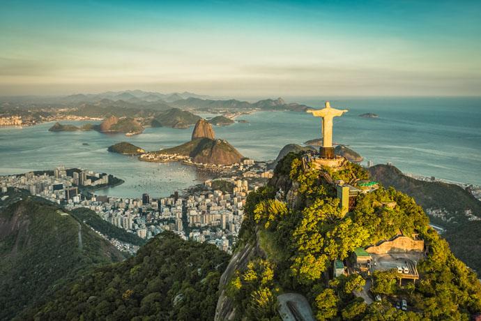 Rio de Janeiro východ slnka