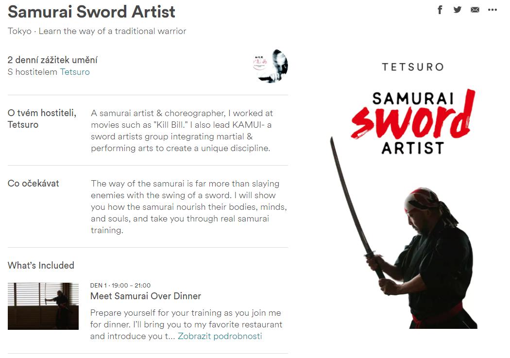 Samuraj - Airbnb