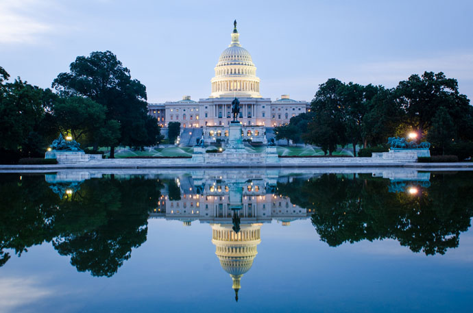 Washington - biely dom