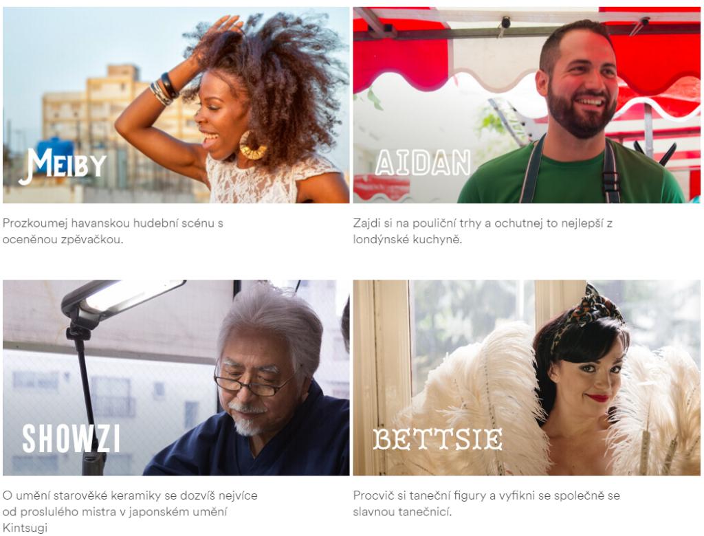 Zážitky na Airbnb