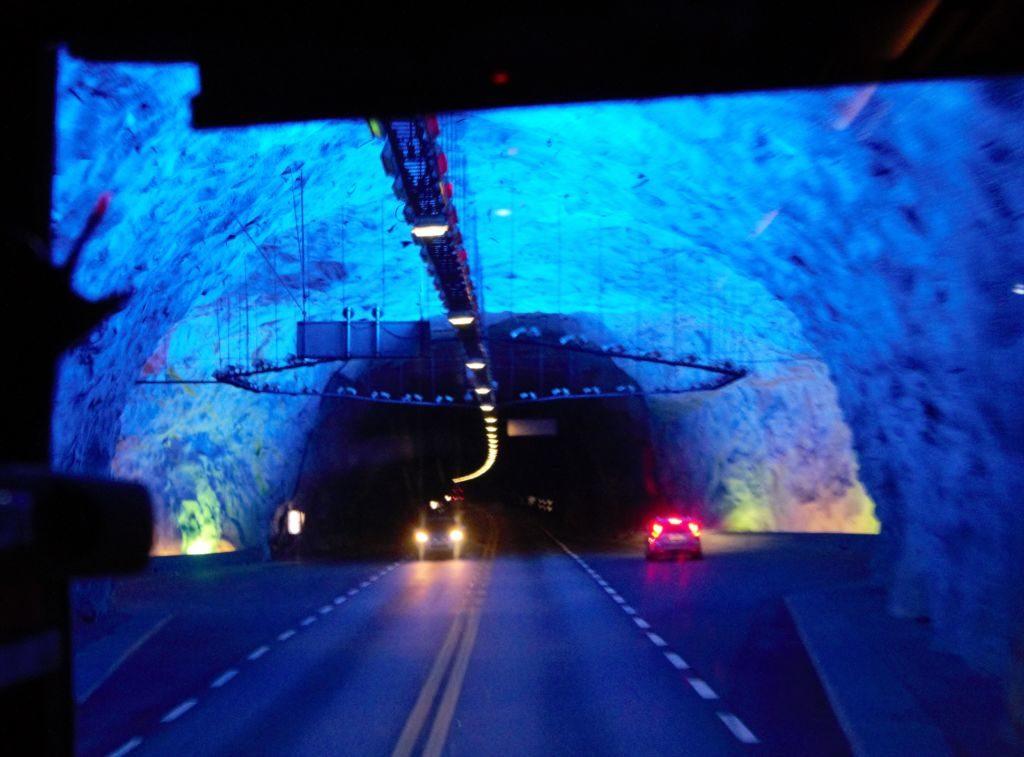 tunel v Nórsku