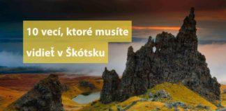škótsko a čo vidieť