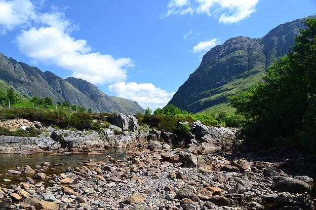 kopec ben nevis v škótsku