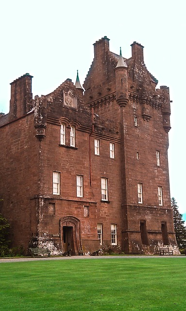 Brodick castle na Isle of arran