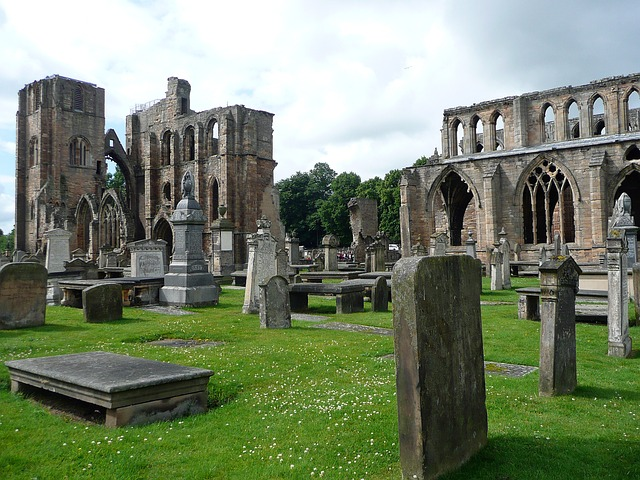 katedrála ruina Elgin