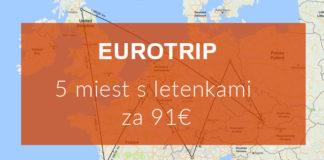 Eurotrip Edinburgh Bordeaux, BruselBerlín, miláno