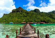 ostrov v Malajzii