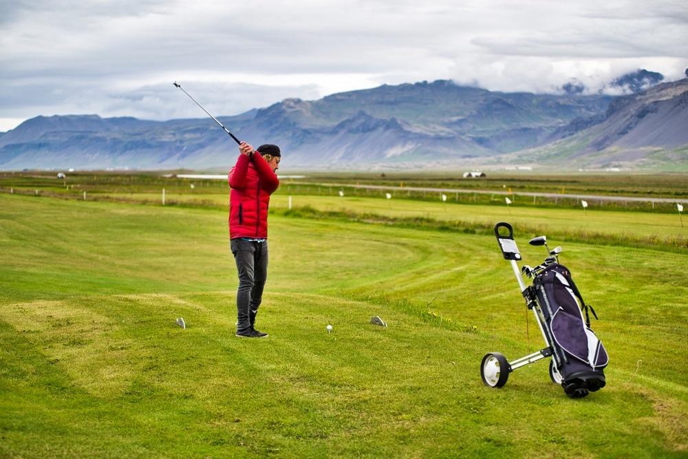 golfista na islande