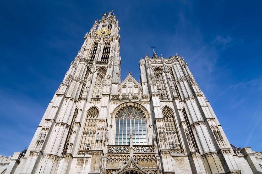 katedrála antverpy belgicko