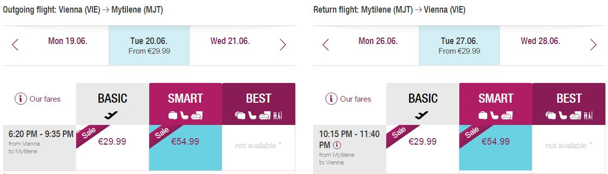 letenky Mytilene
