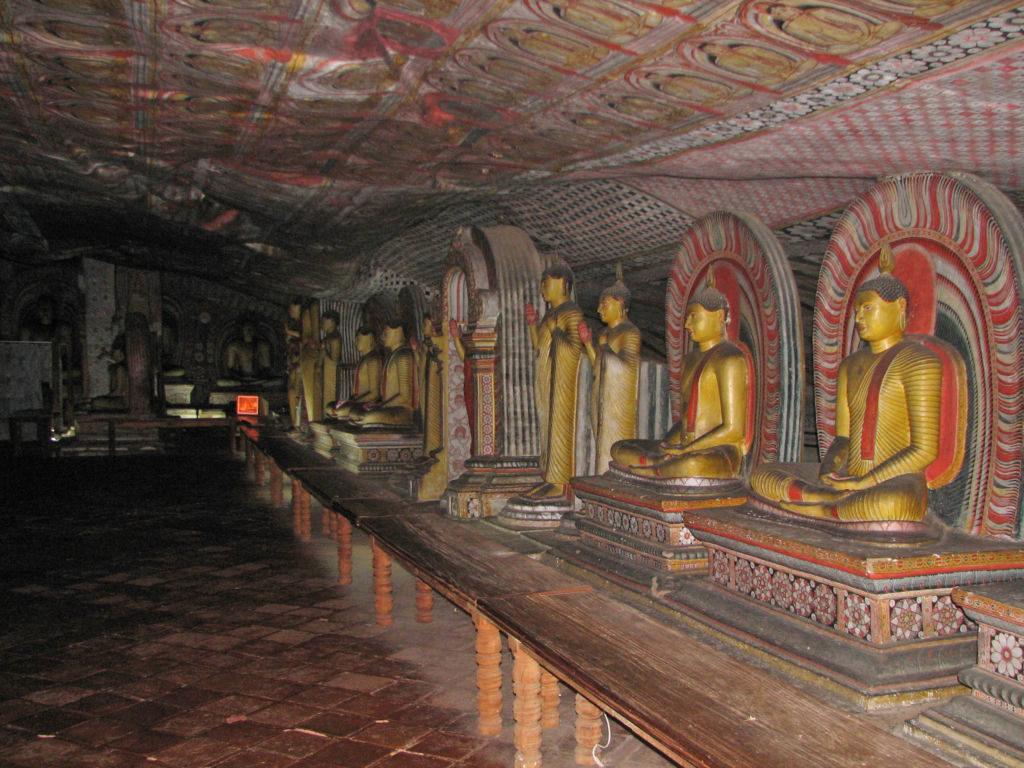 chrámy Dambulla