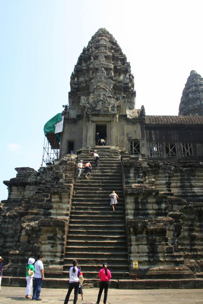 schody k Angkor Wat