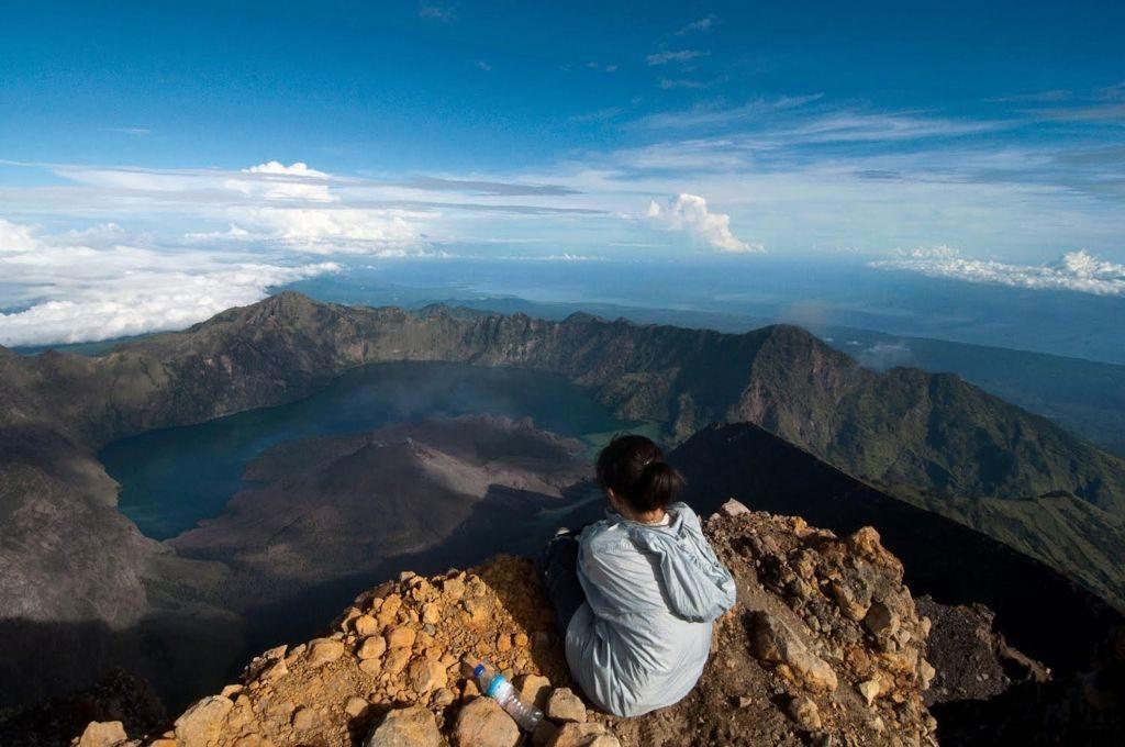 Mount Rinjani Lombok Indonézia