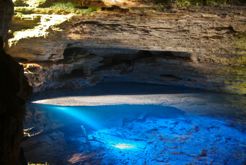 jaskyňa Poço Encantado