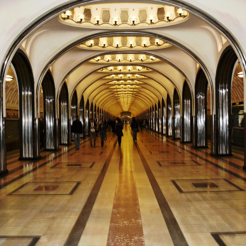 mayakovskaya stanica metra