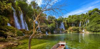jazero a vodopády Bosna a Hercegovina