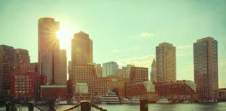 Boston pri východe Slnka