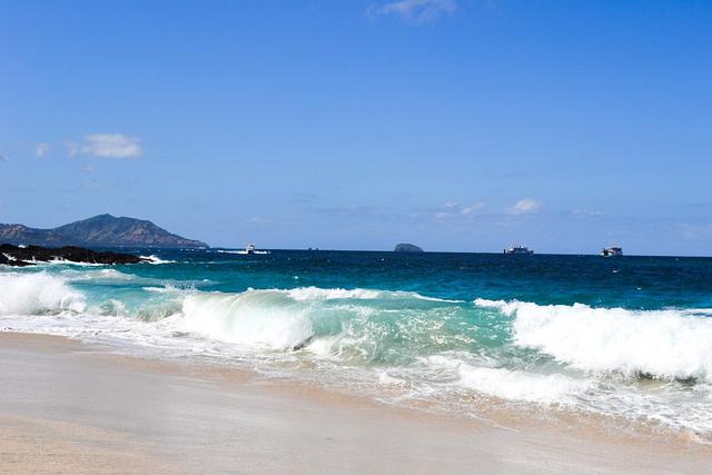 white sand beach padangbai bali