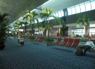 letisko v Singapure