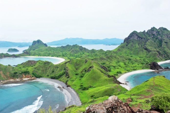 Ostrov Padar, Indonézia