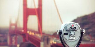 San Francisco najznámejší most