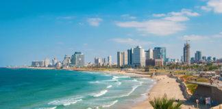 Tel Aviv - pobrežie