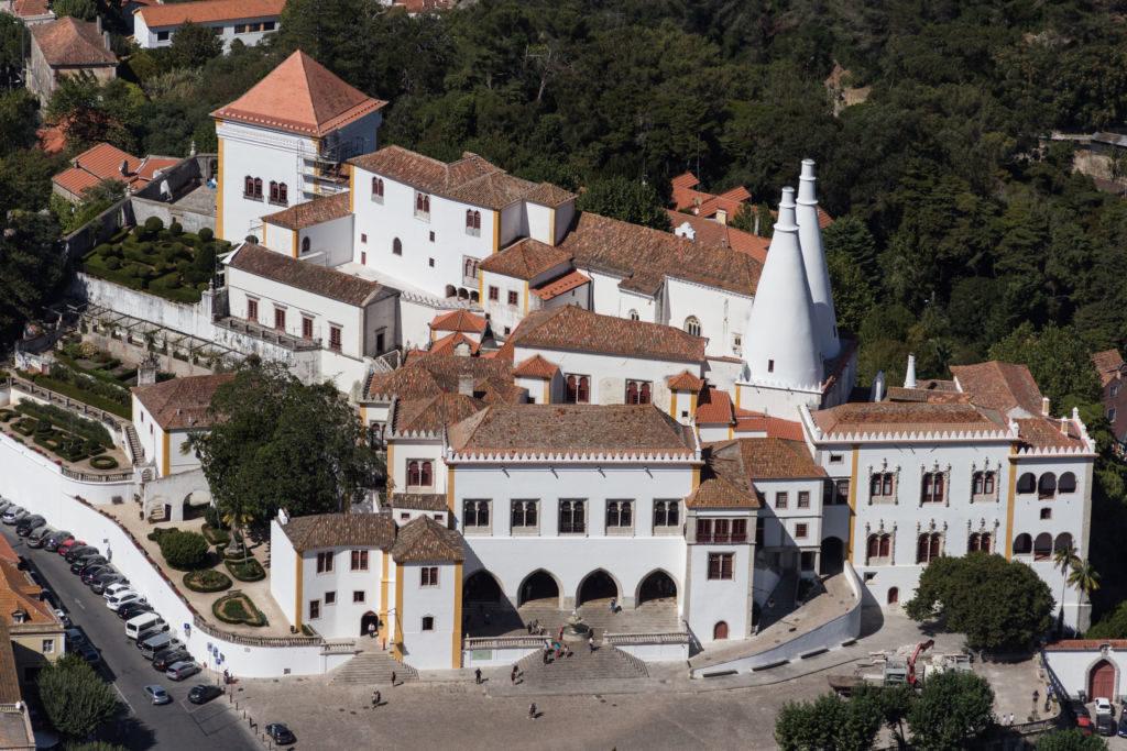 Palácio Nacional Sintra Portugalsko
