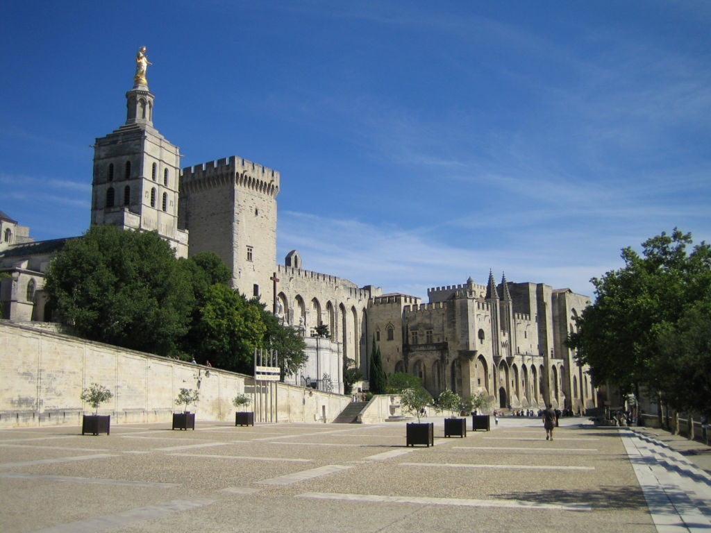Pápežský palác Avignon