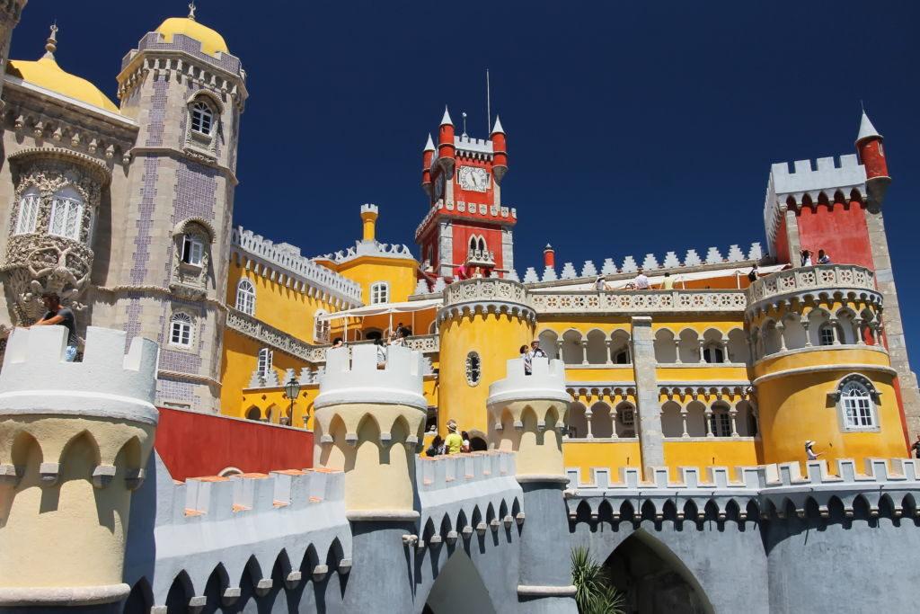 Palacio de Pena Sintra portugalsko