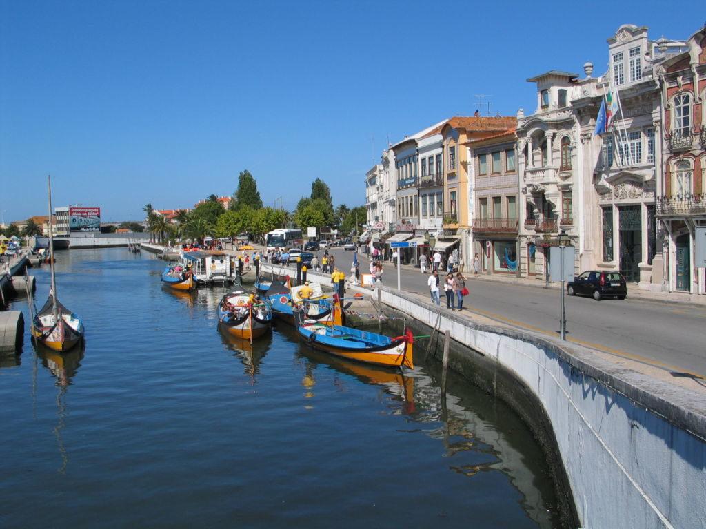 Aveiro Portugalsko