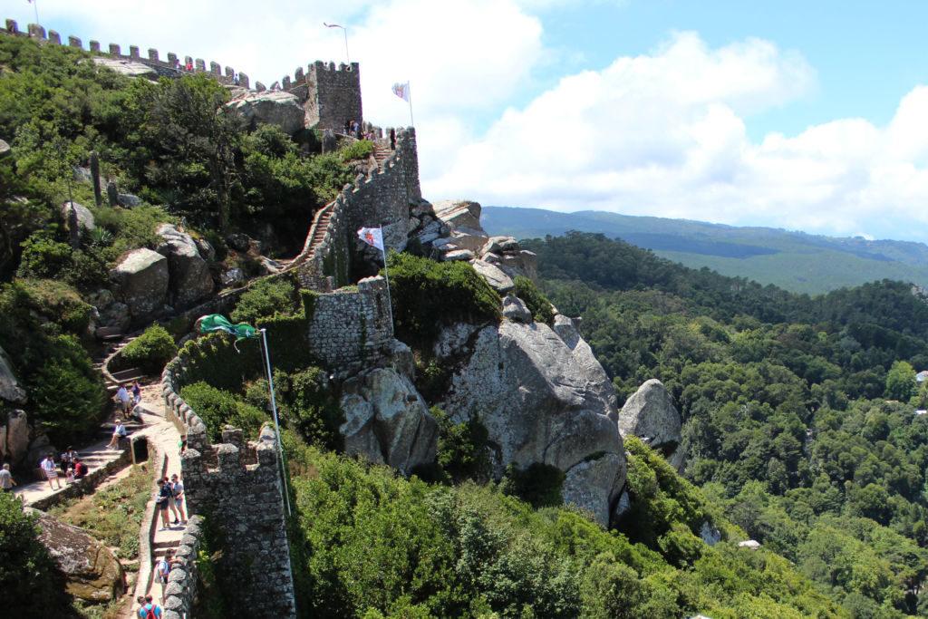 Maurský hrad Sintra