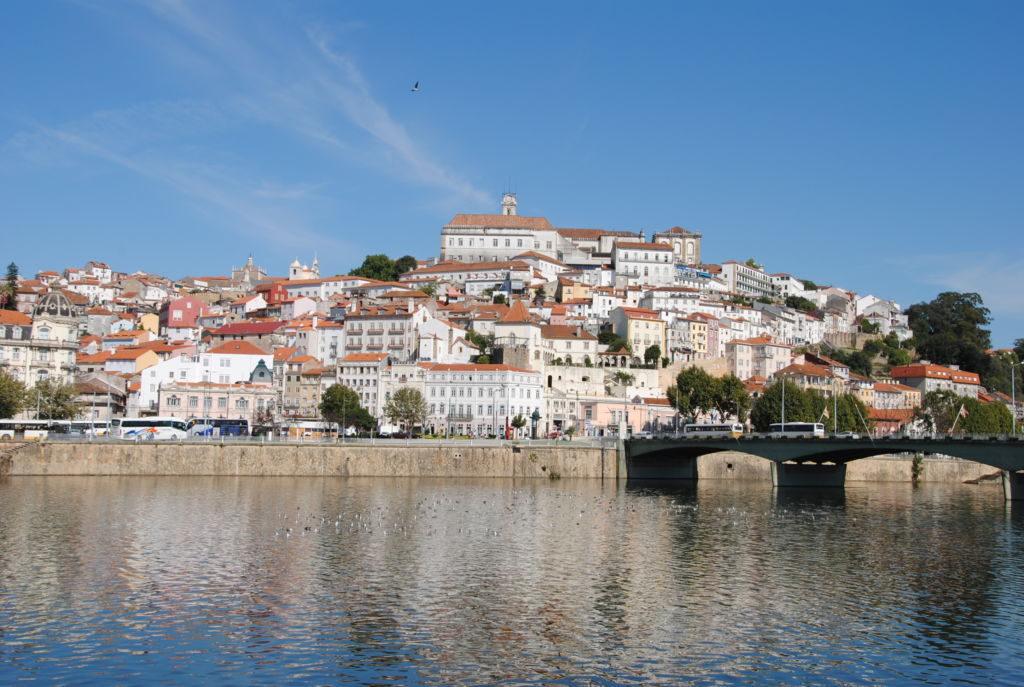Coimbra a rieka Mondego