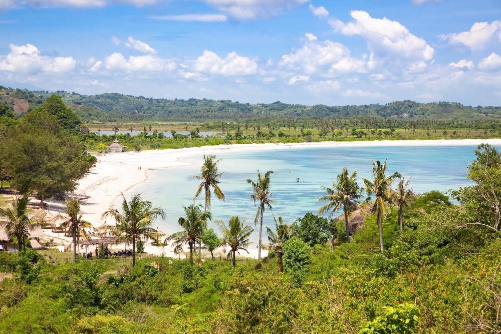 Pláž Tanjung Aan, Lombok