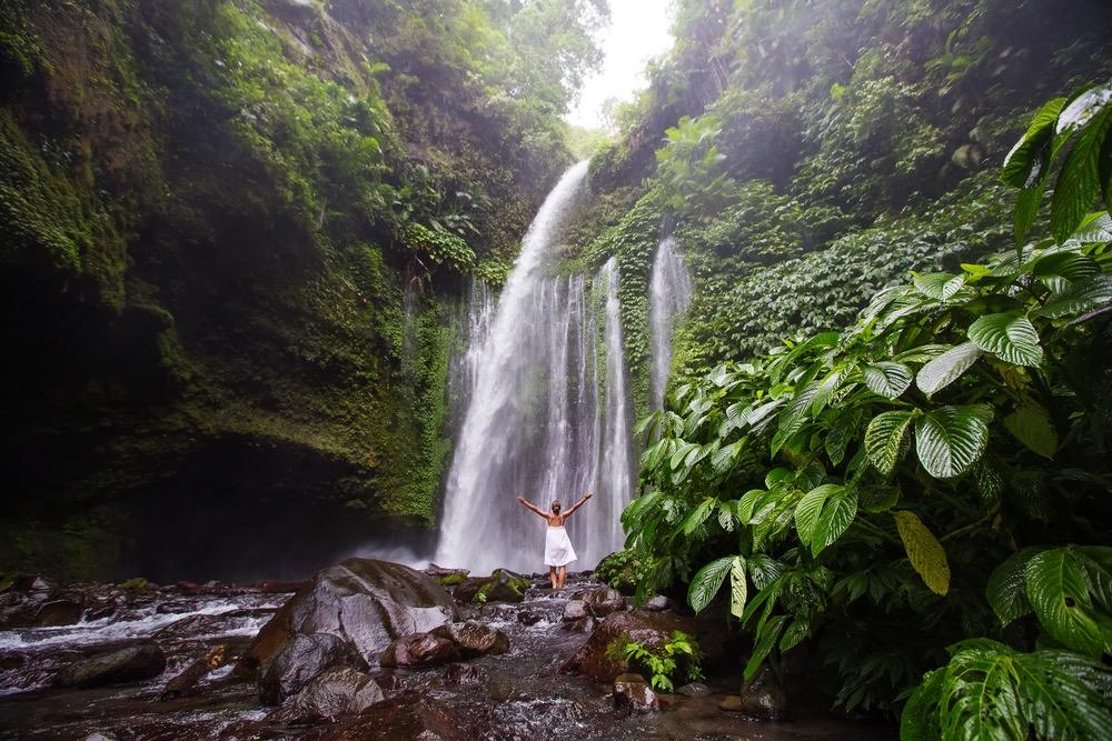 Tiu Kelep, Lombok