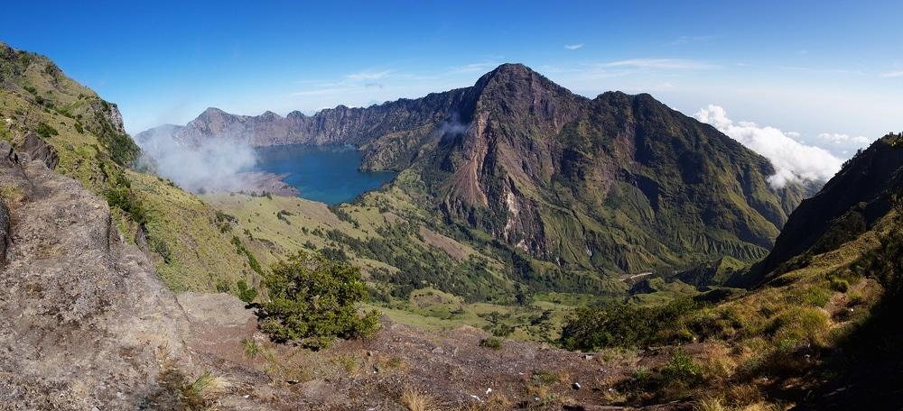 Vulkán Rinjani