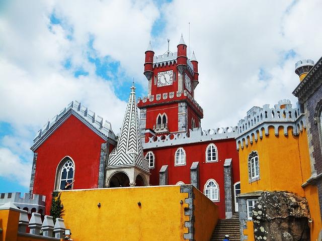 Palácio da Pena Sintra Portugalsko